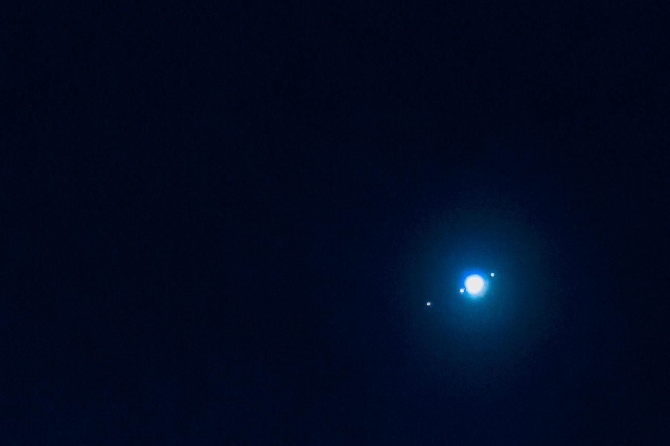 Jupiter og noen måner